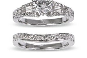 male and female wedding bands